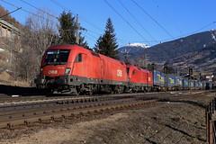 BB 116 158-7 und 1116 076-1 Walter-Zug, Matrei am Brenner (michaelgoll777) Tags: taurus bb 1116 es64u2