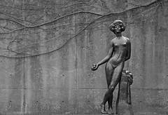 how does the saying go... (armykat) Tags: blackandwhite sculpture art fruit bronze vines sculpturegarden baltimoremuseumofart baltimoremaryland artistemileantoinebourdelle