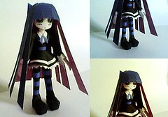 Panty & Stocking with Garterbelt - Anarchy Stocking Ver.2 Free Figure Papercraft Download (PapercraftSquare) Tags: figure stocking anarchystocking pantyampstockingwithgarterbelt
