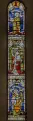Corringham, St Laurence's church, window (Jules & Jenny) Tags: stainedglasswindow lincs kempe corringham