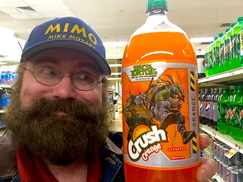 Teenage Mutant Ninja Turtles Movie Orange and Grape Crush Soda Pop! 5/2016, by Mike Mozart of TheToyChannel and JeepersMedia on YouTube #Ninja #Turtles #Crush #Soda #Pop