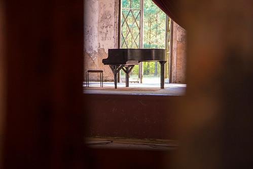 Lungenheilstätte Grabowsee: Klavier
