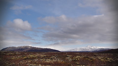 View from Hraunfossar (JimLeach89) Tags: travel holiday snow nature digital rural landscape outside outdoors countryside iceland nikon scenery exterior view natural dslr d40 nikond40 d40x d40d40x