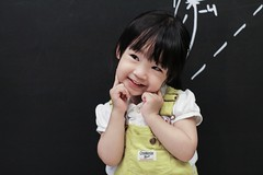 Cute Baby ( aikawake) Tags: baby cute love girl beautiful smile smart yellow children happy kid child little sweet good great happiness lovely