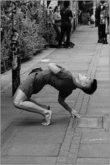 I'm Bending Over Backwards.... (Mabacam) Tags: london athletic model gymnast shoreditch youngman eastend bending 2016