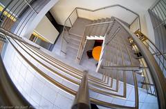 Intimations of The Infinite (Raphael de Kadt) Tags: architecture infinity fisheye escher johannesburg escherian fjifilmxt1