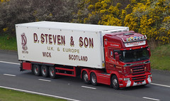 D Steven & Son of Wick Scania R560 SK63LZO (andyflyer) Tags: truck transport lorry haulage hgv roadtransport dstevenson scaniar560 stevensofwick sk63lzo
