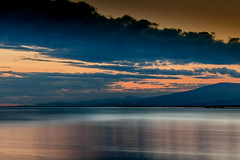 untitled (michaelinvan) Tags: sunset water canon richmond f2 135mm terranova 5d2