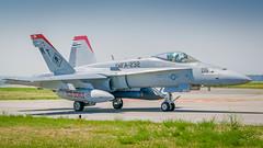Marine Hornet taxiing (jhooten1973) Tags: aircraft hornet warbirds flyin jeffco jaa generalaviation f18c marineaviation rockymountainmetropolitanairport modernmilitary jeffcoaviatationassociatation