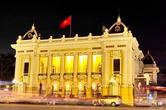 The Opera House (Melvin Yue) Tags: street city travel colors night 35mm opera asia vietnamese cityscape colours streetphotography wanderlust traveller vietnam explore fujifilm lonelyplanet hanoi operahouse photooftheday picoftheday natgeo travelphotography travelgram x100s