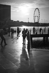Light's upon you (ah.b ack) Tags: street light shadow bw 50mm singapore sony voigtlander f2 ultron a7ii prominent a7mk2