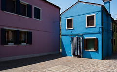 The colors of Burano (Sorin Popovich) Tags: street venice italy sun house history horizontal facade outdoors island photography europe day bright multicoloured nopeople unescoworldheritagesite burano veneto brightcolour traveldestinations buildingexterior italianculture builtstructure