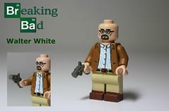 Walter White - V2 (TheCampervanTom) Tags: walter white lego bad custom breaking