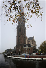 The Westerkerk in the fog (ArtDen82) Tags: amsterdam netherlands holland autumn fog westerkerk architecture