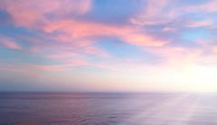 Pastel Colors Pink And Blue Pink And Blue Sky Sunset Pink And Blue Sunset Ocean View Ocean Sunset  At Sea Horizon Over Water Sun Rays Relaxing Calming Tranquility (Shannon F Gorman) Tags: sunset relaxing calming tranquility sunrays oceanview atsea pinkandblue oceansunset pastelcolors pinkandbluesky horizonoverwater pinkandbluesunset