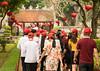 Follow the red caps (languitar) Tags: templeofliterature lantern hat colors tourist red lampion vietnam hanoi chineselantern hànội socialistrepublicofvietnam việtnam vănmiếuquốctửgiám paperlantern ănmiếu 文廟 vn lens:maker=nikon lens:aperture=40 lens:focallength=24120 lens:type=afsnikkor24120mmf4gedvr