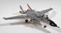 Grumman F-14A Tomcat update (3) (Dornbi) Tags: black us lego f14 aircraft navy aces tomcat grumman f14a