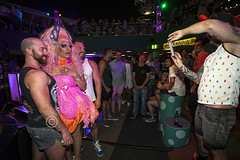 AQUEERium20160626_066sm (DawnOne) Tags: gay party fish toronto men water glitter aquarium rainbow women dj ray tube australian young ripleys kitty pride lgbt mermaids virago sharks local rays judy trans mermaid facepaint superstar tanks transsexual sapphire reign 2016 transsexuals cownose lgbtq titha aqueerium