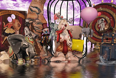 Sideshow Beauty (Gaby Marshdevil ~ BUSY IRL) Tags: arcade sl secondlife exile reverie gacha vco fawny