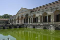 (Wendy:) Tags: green moat mantua palazzote