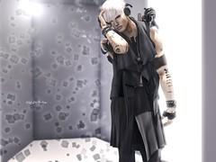 ::GB::Drape vest  Black @TMD (Kai Wirsing) Tags: gabriel c gb l re vv tabou letre a nomatch aitui