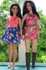 Big Sisters (Dizin Dat) Tags: rosie barbie curvy raquelle