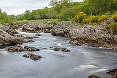 Swirling Waters (scottishkennyg) Tags: river scotland sutherland riverhelmsdale