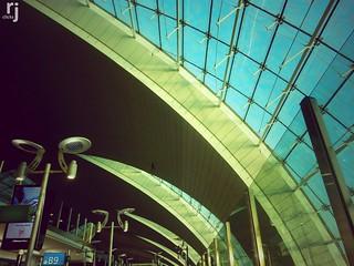 Gate B9, Dubai Airport