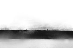 Breaking rulez (Ans van de Sluis) Tags: portrait people blackandwhite bw art nature monochrome landscape blackwhite fineart surreal rules minimal minimalism conceptual rule minimalist ansvandesluis