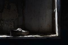 per rinascere devi prima morire (francesco melchionda) Tags: light abandoned colors shoes shadows decay explore urbanexploration decadence urbex cetinje