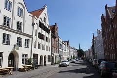 Dankwartsgrube (magro_kr) Tags: lubeka lbeck lubeck luebeck niemcy germany deutschland szlezwikholsztyn holsztyn schleswigholstein holstein ulica street