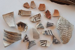 Pottery sherds from Hovenweep