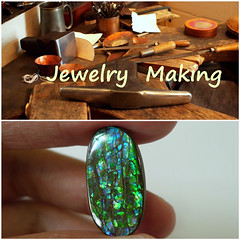 Coming Soon (The Ammolite) Tags: ammolite fossil アンモライト ammonite gemstone jewellery jewelry minerals mineral