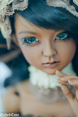 (Micheescloset) Tags: fashion ball asian doll dress handmade room tan lolita bjd envy gilded abjd jointed dollroom