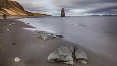 Reinvent your intuition (OR_U) Tags: sea beach iceland rocks widescreen le l coastline fjord nik oru 169 redhotchilipeppers hdr seastack hss 2016 hvtserkur ongexposure sliderssunday