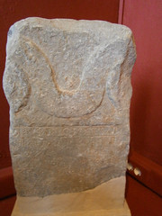 GR08A01-0008 (classicsuwtsd) Tags: sparta museum inscription stele commemorative victory athletics ram apollo carneios