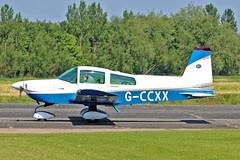 G-CCXX AA-5B Tiger P D Lock Sturgate Fly In 05-06-16 (PlanecrazyUK) Tags: sturgate egcs fly in 050616 lincoln aero club ltd gccxx aa5btiger pdlock fly in