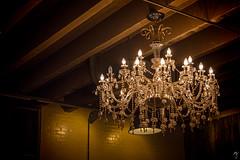 chandelier (MJphotograhpy) Tags: light shadow stilllife dark lowlight warm antique object indoor ceiling chandelier lightsource