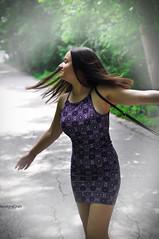 teddy - photoshoot (teodoraGran) Tags: dancing ballerina model vignete girl woman beautiful nikon d90 movement joy happyness day outdoor dress people