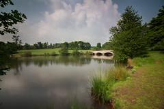 Shobrooke park (Brad Discombe) Tags: park bridge england lake water canon landscape devon crediton 100d shobrooke canonefs1018mm