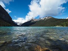 Lake Louise (RS_1978) Tags: berge kanada wald olympusem5ii gewsser see acqua eau forest fort lac lago lake montagnes mountains wasser water   banffnationalpark alberta ca landschaft natur