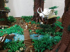 Ewokdorf - Kampfwagen 01 (KW_Vauban) Tags: starwars lego endor ewokvillage episodevi thereturnofthejedi