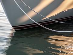 SITTING PRETTY (cdn.slacker) Tags: water boat tied fit