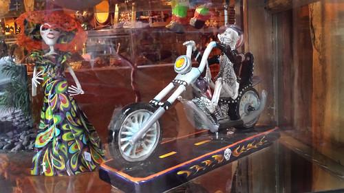 Ghost rider meets boney broad