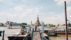 Temple of Dawn (_mhafiz) Tags: urban cloud river thailand temple ruins asia bangkok streetphotography wanderlust adventure watarun chaopraya