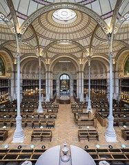 La salle Labrouste depuis la premire galerie, avril 2016,  Jean-Christophe Ballot BnF/INHA/OPPIC (Library ABB 2013) Tags: paris france architecture nationallibraryoffrance bibliothquenationaledefrance 2016