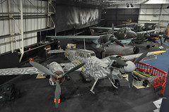 Lufwaffe collection (Richard.Crockett 64) Tags: bf110 ju88 bf109 heiii luftwaffe ww2 worldwartwo royalairforcemuseum hendon london 2016