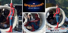 Spider-Man: Homecoming Set Pictures! (StarSaberSlash) Tags: pictures set comics movie costume spiderman homecoming marvel tomholland