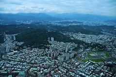 The View From The Taipei 101 Building (faungg's photos) Tags: city travel building cityscape metro taiwan taipei