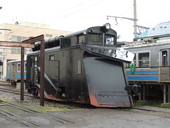 弘南鉄道キ104 (SS7C) Tags: japanese rail train 弘南鉄道 konan tetsudo heavy snowfall aomori tohoku railfans